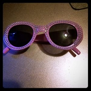 Other - Pink bling sunglasses